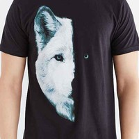 Body Rags Midnight Wolf Tee- Black