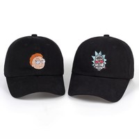 cc kuyou Rick & Morty Enbroidered Dad Hat