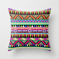 OVERDOSE Throw Pillow by Bianca Green