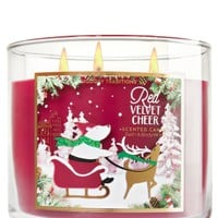 3-Wick Candle Red Velvet Cheer