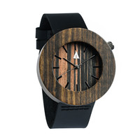 Wooden Watch // Perfectly Imperfect // Ebony No. 82