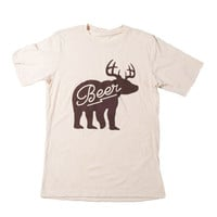 Beer Deer Bear Tee
