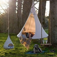 Hanging Outdoor Tent Hammock for Camping or Patio Waterproof Butterfly Swing Hanging Chair or Patio Furniture 3 Colors FREE SHIPPING