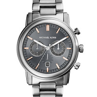 Michael Kors Pennant Stainless Steel Chronograph Watch