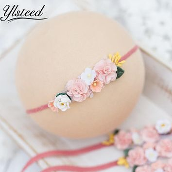 born Photography Props born Flower Headband Baby Girl Photo Props Girls Hair Accessories for Photo Shooting Baby Hairband