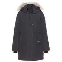 canada goose - trillium down jacket with fur-trimmed hood