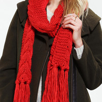 Classic Cable-Knit Scarf - Urban Outfitters