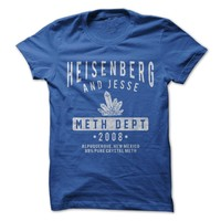 Heisenberg And Jesse Meth Dept. T-Shirt