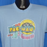 80s Pac Man Fanatic Arcade Game Iron On t-shirt Medium