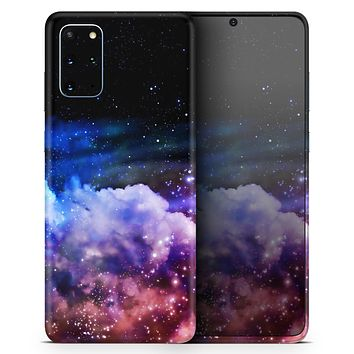 Purple Blue and Pink Cloud Galaxy - Skin-Kit for the Samsung Galaxy S-Series S20, S20 Plus, S20 Ultra , S10 & others (All Galaxy Devices Available)