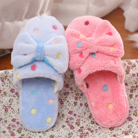 Shoes Lovely Cotton Ladies Home Slippers [9067742468]