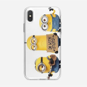 Minions Say Nobody Move iPhone XS Max Case