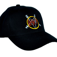 Slayer Seasons in the Abyss Hat Baseball Cap Heavy Metal Clothing