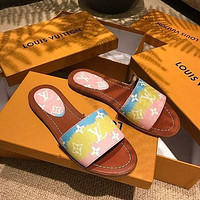 Louis Vuitton LV New Classic Slippers Shoes