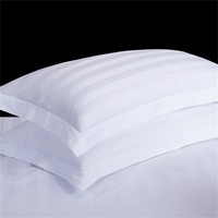 1pc 100% Cotton Pillow Case Classice White Stripe Pillow Cover Home Bedroom Hotel Bedding Pillowcase Pillow Sham