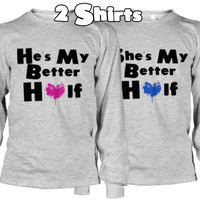 My Better Half Couples Shirts