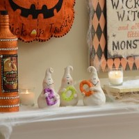 The Brothers Boo Ghost Statues, Set of 3 | Kirklands