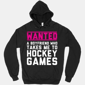 Wanted: A Boyfriend Who Takes Me To Hockey Games