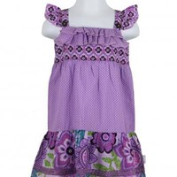 Naartjie Kids   Baby Girl Clothes   Naartjie Baby Girl Clothes   Mixed Print Ruffled Lawn Dress