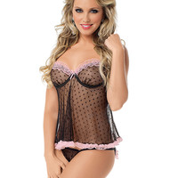 Romantic Ruffles Baby Doll
