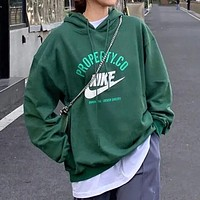 Nike simple men and women all-match hooded sweater