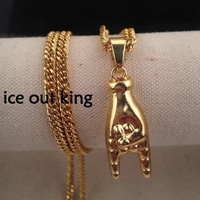 Shiny New Arrival Gift Jewelry Stylish Hip-hop Sweater Blouse Accessory Necklace [6542738947]