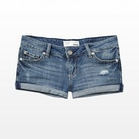 Flirty Shorts with Rolled Cuff