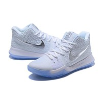 Nike Kyrie Irving 3 White/Silver Basketball