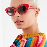 Crap Eyewear The Wild Gift Red Cat-Eye Sunglasses | Urban Outfitters
