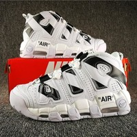 Off White X Air More Uptempo Sneaker | Best Deal Online