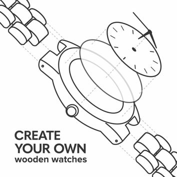 Classic Create Your Own Wood Watch