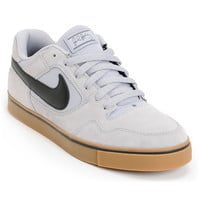 Nike SB P-Rod 2.5 Wolf Grey and Gum Suede Skate Shoe