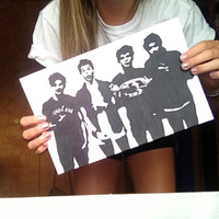 5 Seconds of Summer group 5sos pop art by idraw5SOSand1D on Etsy