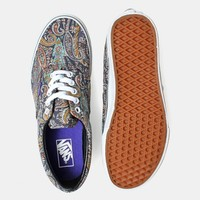 Vans Era Shoes - (Liberty) Grey Paisley | Urban Industry