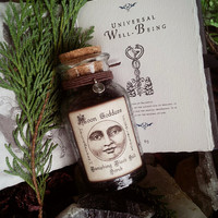 Banishing Black Salt Scrub..Witches Salt...Cruelty-Free, Great for Spiritual Readers, Pagan, Wicca ~Moon Goddess Magick~