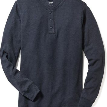 Old Navy Waffle Knit Henley