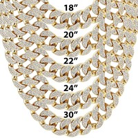 Men's Custom  18mm Miami Cuban Link Necklace