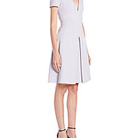 Alexander McQueen - Pleated A-Line Dress - Saks Fifth Avenue Mobile