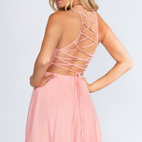 Roxy Dress - Blush