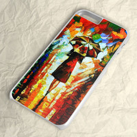 Colorful Rain Oil Painting iPhone 6 Case