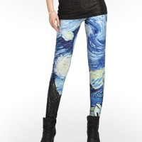 Starry Night Leggings : Comfortable Legging Pants