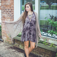 Head In The Clouds Dress in Black