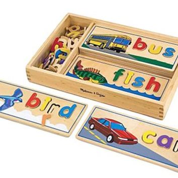Melissa & Doug See & Spell (60+ pc) - Free Shipping