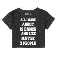 Heather Onyx T-Shirt | Dance Team Shirts