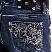Miss Me Floral Boot Stretch Jean - Women's Jeans | Buckle