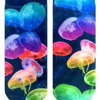 Jellyfish Ankle Socks