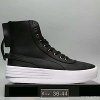 The Weeknd X PUMA XO PARALLEL The bottom of the thick Fashion Women boots shoes Black G-A0-HXYDXPF