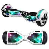 MightySkins Protective Vinyl Skin Decal for Self Balancing Scooter Hoverboard mini hover 2 wheel x1 razor wrap cover sticker Glow Stars