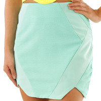 Meant To Last Skirt: Mint