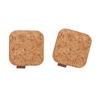 Cork Fabric Coaster - retail / 1